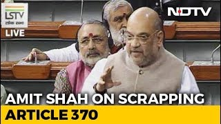 """""""Congress Kept Farooq Abdullah's Father In Jail For 10 Years"""": Amit Shah"""