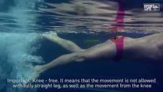 Плавание  Урок для начинающих
