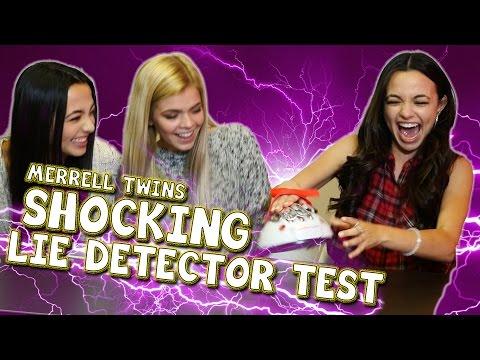 SHOCKING LIE DETECTOR TEST - Merrell Twins ft. Griffin Arnlund