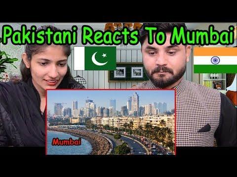 Pakistani Reacts To | The city of Mumbai | Pakistani Reacts To Indian Cities