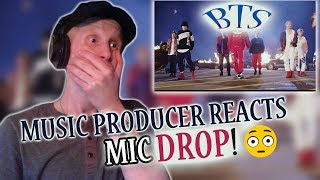 Download Music Producer Reacts to BTS (방탄소년단) 'MIC Drop (Steve Aoki Remix) Mp3 and Videos