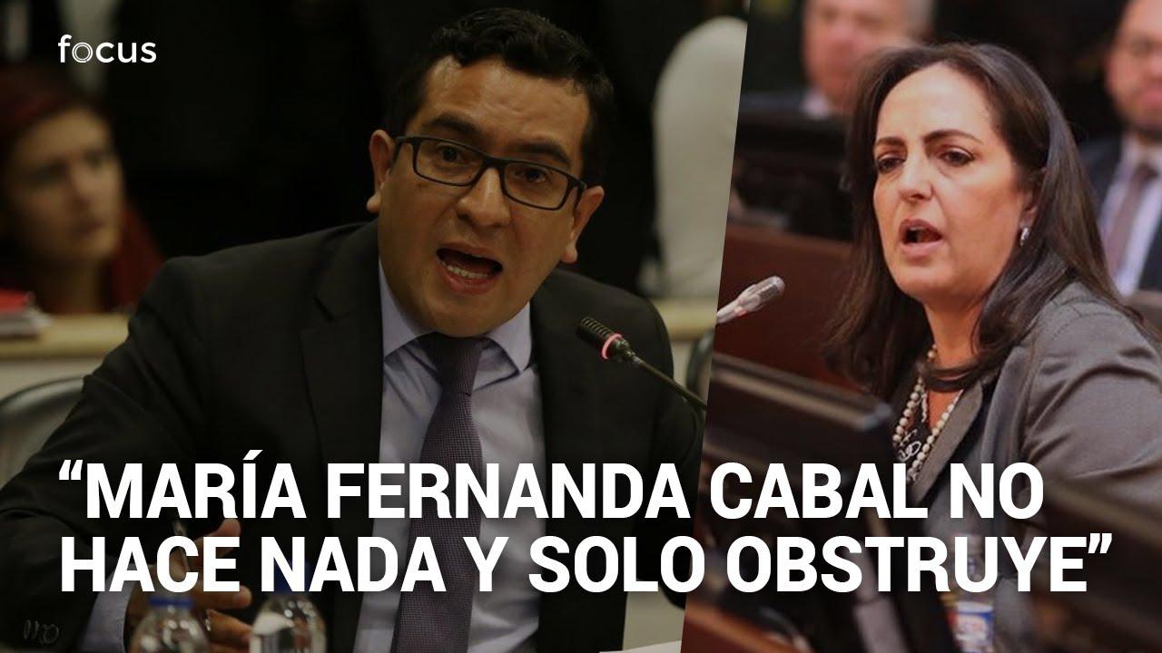 Fuego amigo en el Centro Democrático. Edward Rodríguez arremete contra María Fernanda Cabal