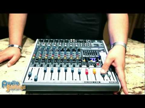 Behringer XENYX X1222USB Mixer Demo & Tutorial XENYXX1222USB Review By Audiosavings.com