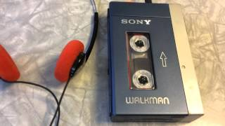 Great Vintage Sony Walkman, Guardians of the Galaxy Style!
