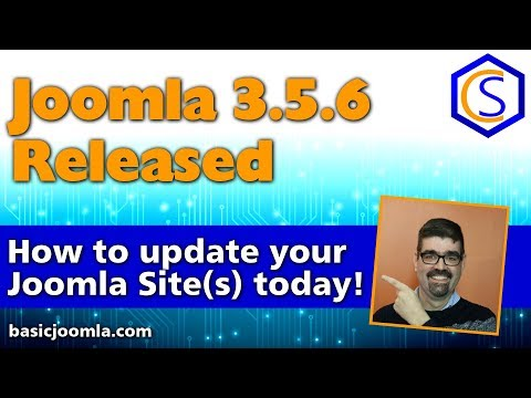 🗞 Live Bulletin -  🔧Joomla! 3.9.6 Security and Bug Release - 2 How to update Joomla Tutorials thumbnail