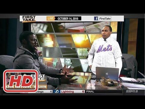 ESPN First Take - Kevin Hart Trolls Stephen A. Smith, Kevin Durant & NBA (FULL)2017