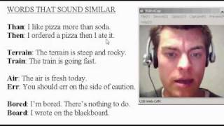 WORDS sound SIMILAR 2? Learn English American Accent Lesson ESL Teacher