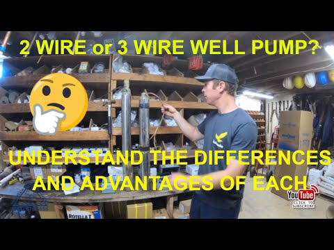 2 Wire And 3 Wire Submersible Well Pump Motor Wiring Differences Explained Youtube