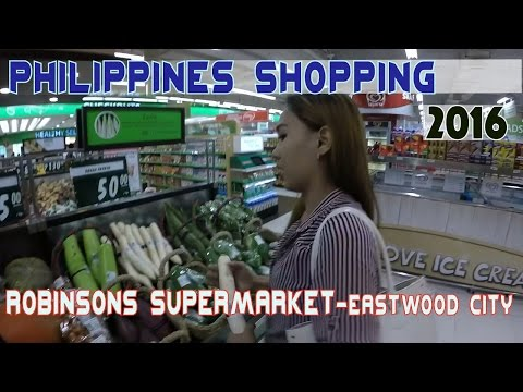 Shopping Manila Philippines - Robinsons Supermarket | VLOG 1 of 3