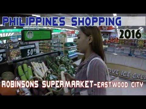 Shopping Manila Philippines - Robinsons Supermarket | VLOG 1 of 3