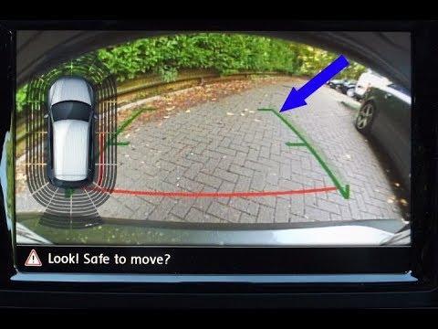 VW Golf 7 GTE Back Camera NEW Sensors System 2018