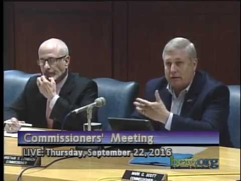 County of Berks Commissioners' Meetings  9-22-16
