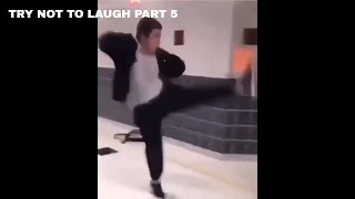 TRY NOT TO LAUGH PART 5 #try not to laugh #fail #funny