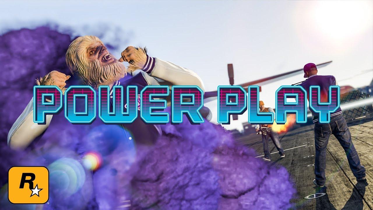 "Gta 5 online играю в режим POWER PLAY"""