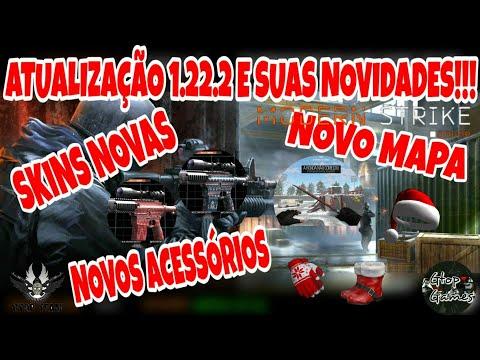 MSO, TUDO SOBRE A NOVA ATUALIZAÇÃO 1.22.2!!! NOVAS SKINS, NOVO MAPA, NOVOS ACESSÓRIOS E MUITO MAIS..