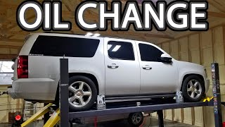 How to Change Oil Chevy Suburb…