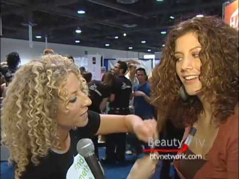 How To Cut Curly Hair With Deva Curl Beauty Tv Youtube