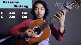 Chord Gampang (Bersama Bintang - Drive) by Arya Nara (Tutorial Gitar)