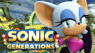 SEXY BAT TIME | Sonic Generations w/ Mods #3