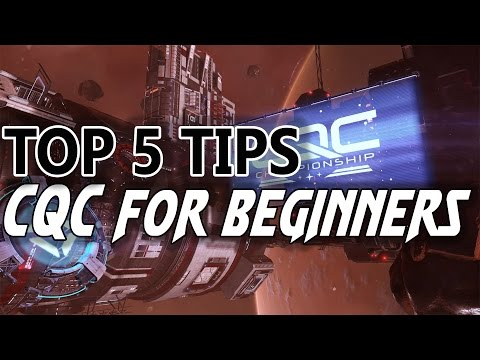 Elite Dangerous CQC Top 5 TIPS & TRICKS for beginners (Strategy Guide Tutorial)
