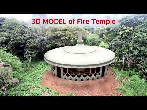 Fire Temple in the Forest
