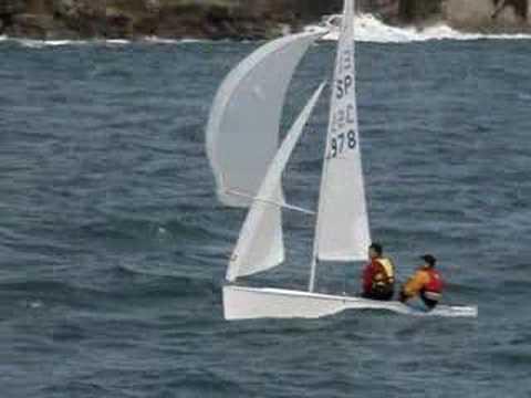 Vaurien Sailing
