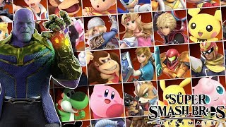 If Smash Bros Ultimate Only Had 35 Characters. The Smash Bros Roster Reset!