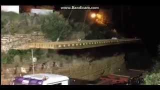 istallata la passerella nella valle dei templi