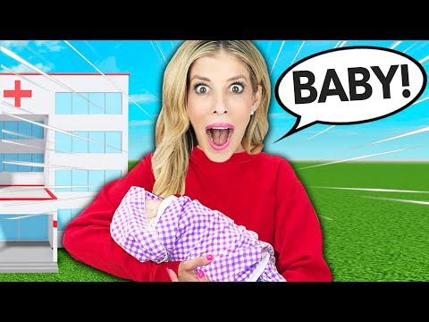 Rebecca Adopts a Baby in Adopt Me Roblox - Zamfam Gaming
