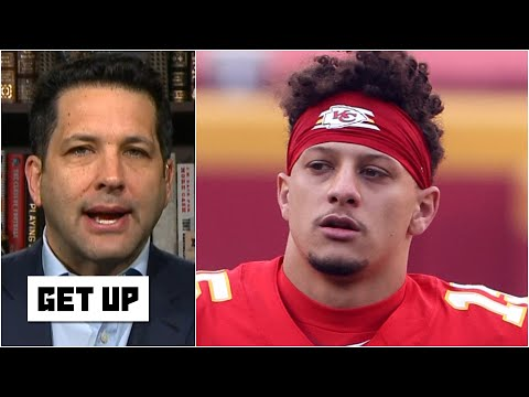 Will Patrick Mahomes play in the Chiefs vs. Bills AFC Championship Game? | Get Up