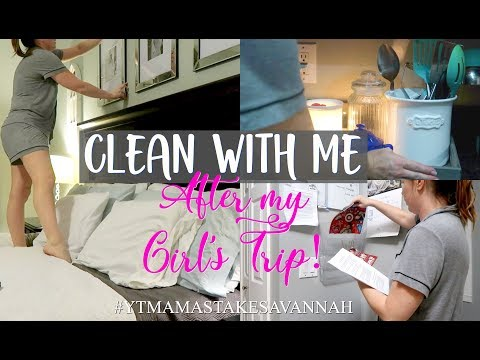 CLEAN WITH ME 2018 / RELAXING NIGHT TIME CLEAN / CLEANING MOTIVATION / LYNN W. PURPOSEFUL JOY