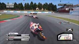 MotoGP 15 - Circuit de Barcelona-Catalunya   Spain Gameplay (PC HD) [1080p]