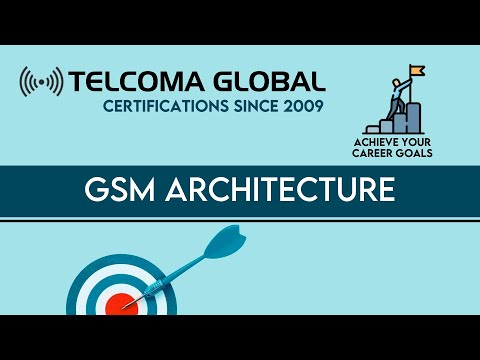 GSM architecture (Global System for Mobile) course by TELCOM