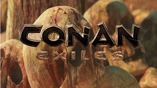 Conan Exiles Movie - Tutorial Gameplay, PVP and building small base.