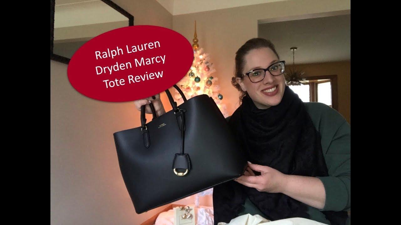 123800ca9c Lauren Ralph Lauren Dryden Marcy Tote Review | MeandMrVuitton