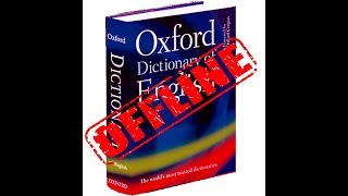 How to install offline dictionary on android phone