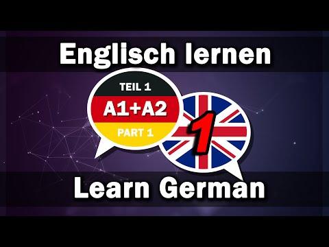 Englisch lernen / Deutsch lernen 2000 Wörter für Anfänger A1+A2 (Teil 1)