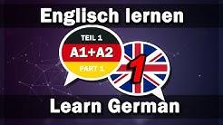 Englisch lernen 2000 Wörter A1+A2 | Learn German 2000 words A1+A2  (Teil 1)