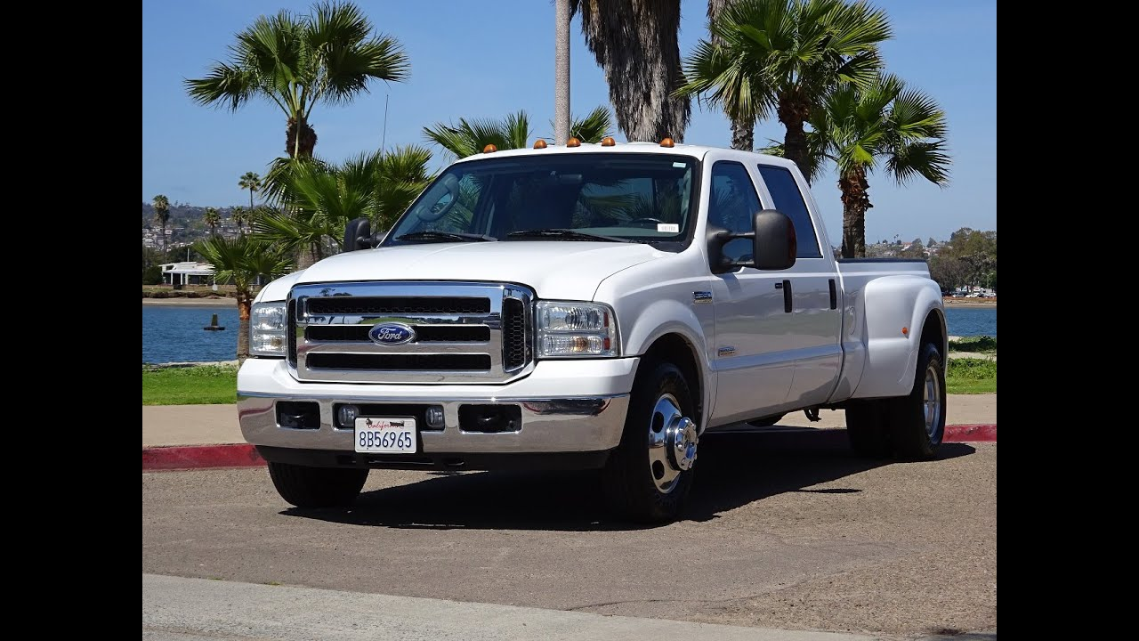 2017 Ford F350 King Ranch Dually >> 2006 FORD F350 DUALLY XLT 6.0L POWER STROKE DIESEL CREW CAB LONG BED 62K 1 OWNER WALK AROUND ...