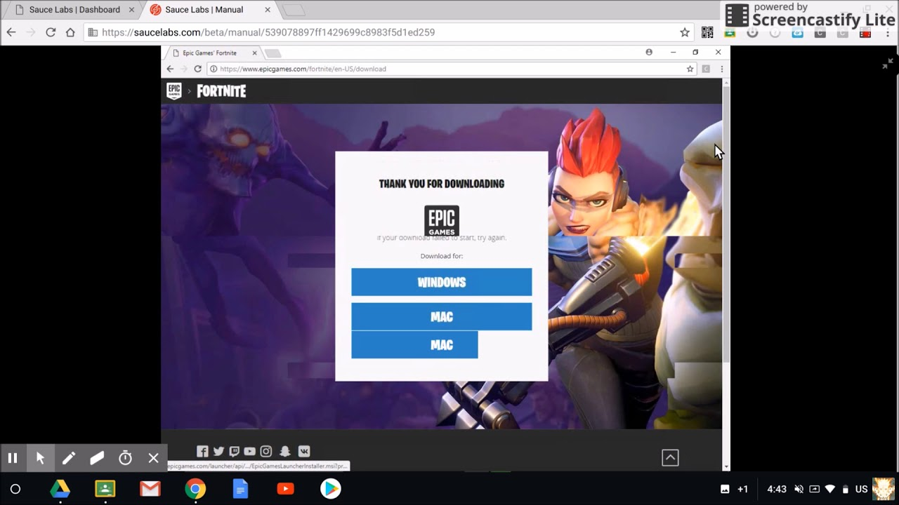 what do you need to download fortnite