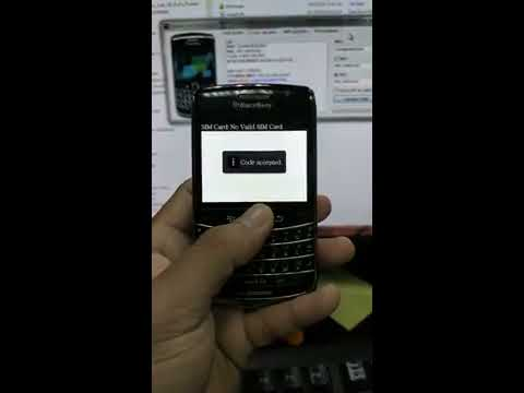 How To Enter An Unlock Code On Your BlackBerry Bold 9700 Docomo?
