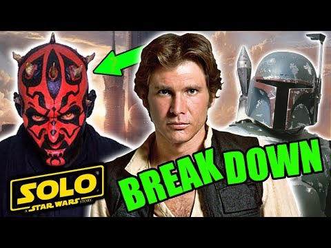 Solo Trailer FULL BREAKDOWN and THEORIES - Star Wars Explained