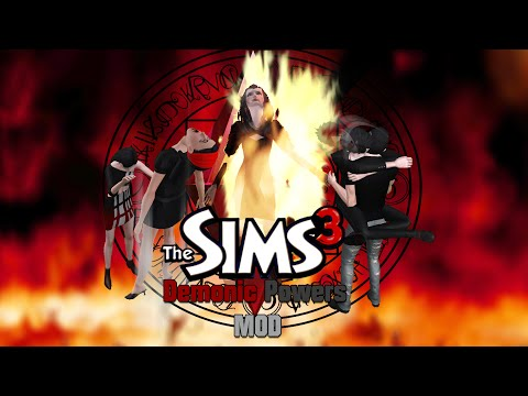 "The Sims 3 Demonic Powers ""MOD"""