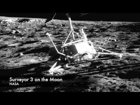 Moon Meeting of Apollo12 and Surveyor 3 - It Happened In Space #23