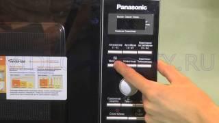 panasonic NN SD 361 - подробная видеоинструкция на микроволновку