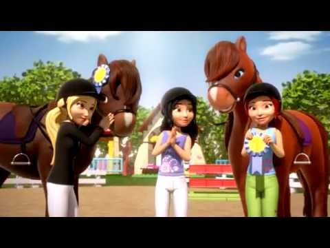 2012 LEGO Friends Horse Stable - YouTube