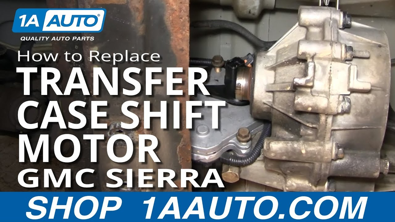 How To Install Replace Four Wheel Drive Transfer Case Shift Motor 2001 Gmc 6 0 Engine Diagram Chevy Silverado Sierra Youtube