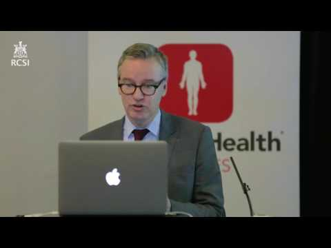 """RCSI MyHealth Lecture - November 2016 - 'Living with Stroke"""" – Prof David Williams (Part 1)"""
