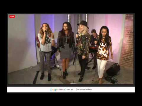 Little Mix performing About The Boy