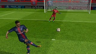 Barcelona Vs Valencia - FTS 19 Android Gameplay
